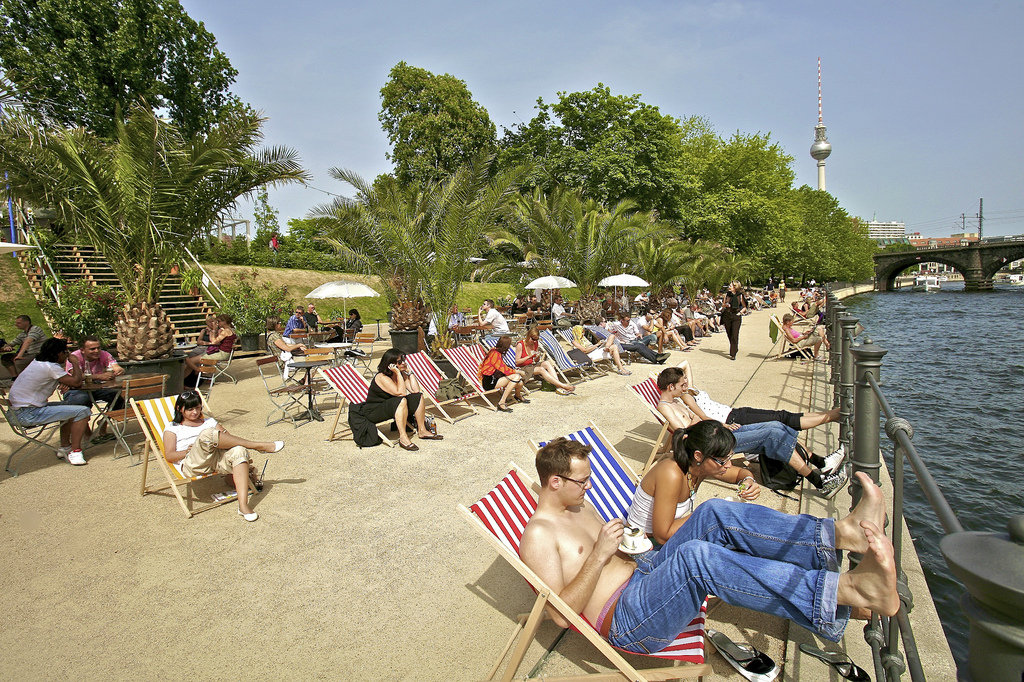 Beachbar Mitte @visit berlin