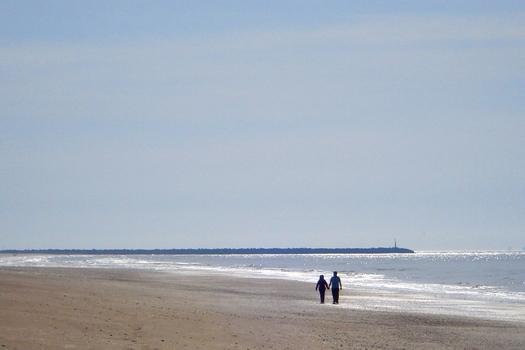 Pasear por la playa de El Espigon
