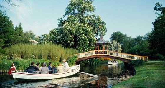 Los Frederiksberg Gardens, un lugar clásico de encuentro de los habitantes de Copenhague