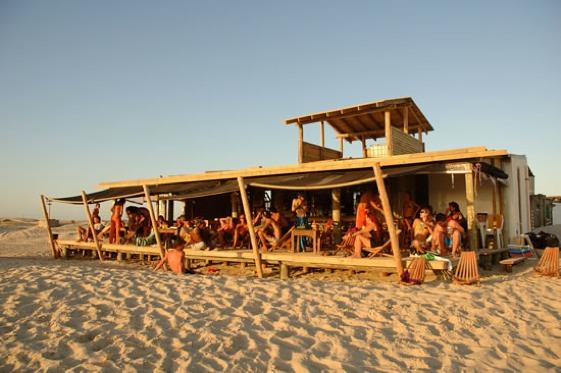 Playa Sur de Cabo Polonio, Uruguay. Foto Fernando da Rosa