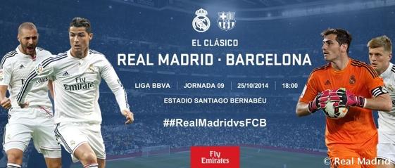 Real Madrid - FC Barcelona 2014/2015