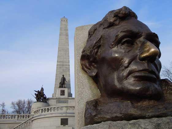 Tumba de Abraham Lincoln en Springfield, Estados Unidos