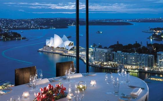Altitude Restaurant, Shangri-La Hotel, Sydney