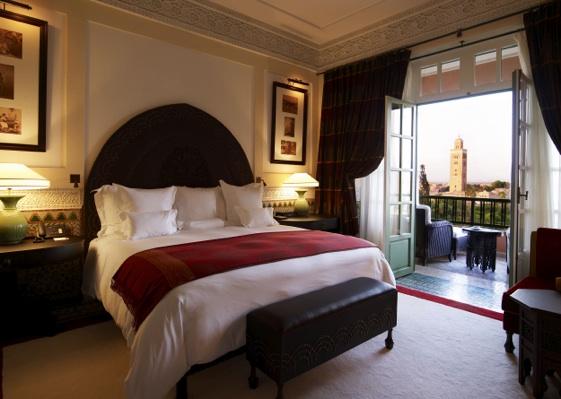 Suite del hotel La Mamounia de Marrakech