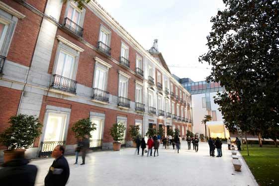 El Museo del Prado, el más famoso de Madrid.