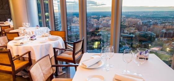 Espacio 33 Restaurante, Torre Espacio, Madrid