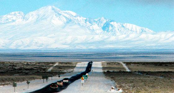 Por la Ruta 40, al sur de Mendoza (Argentina). Foto: Mariano Mantel