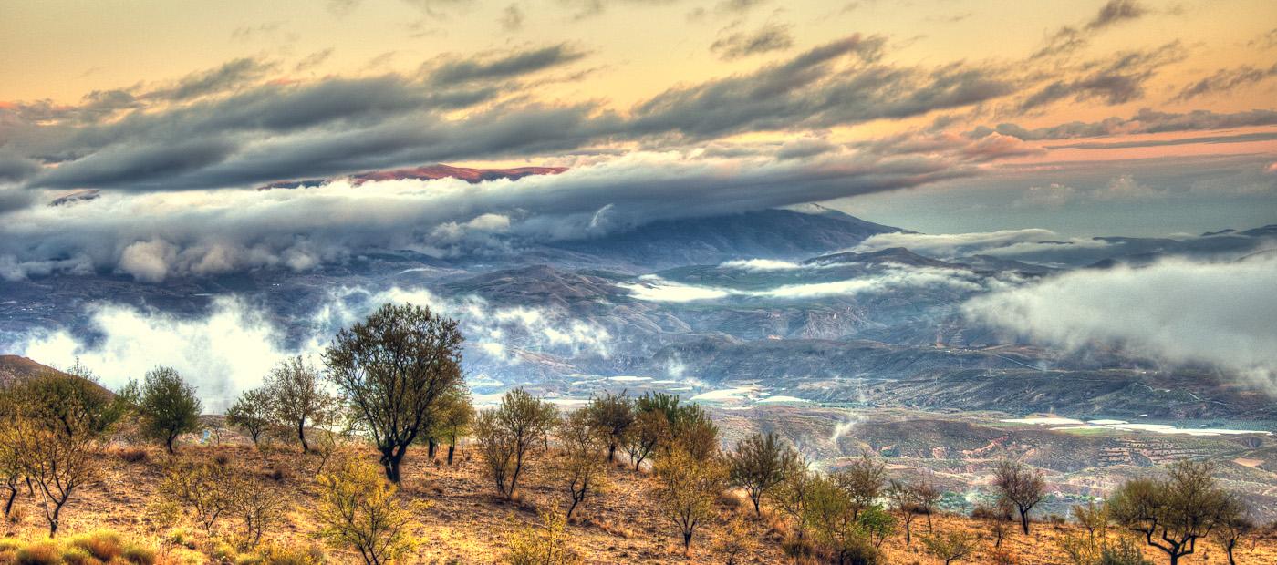 Nubes de las Alpujarras