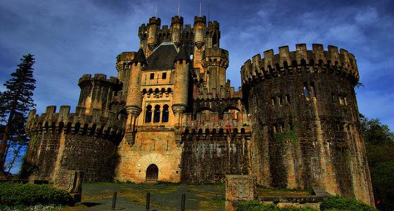 Castillo de Butrón: 15 castillos más bonitos de España