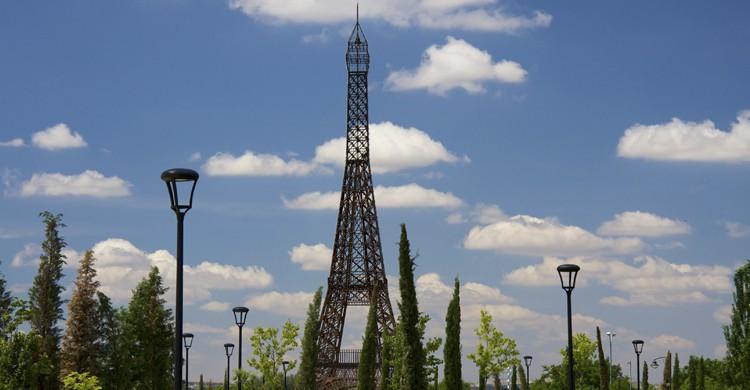 Torre Eiffel en Parque Europa (Mario Sánchez Prada, Flickr)