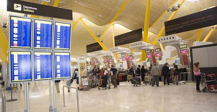 Aeropuerto Adolfo Suárez Madrid Barajas