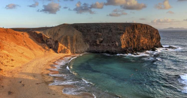 Papagayo Beach, Canaries, Spain
