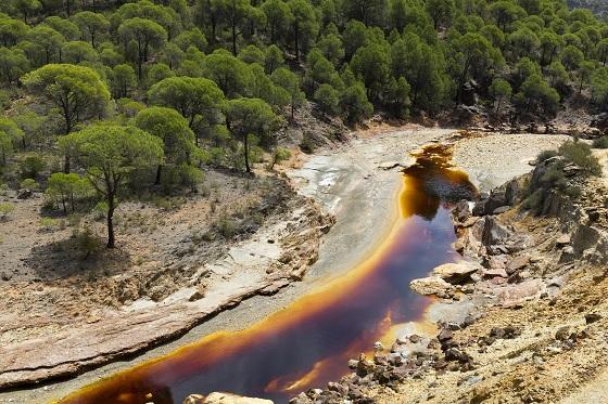 Río Tinto, en Huelva. Flickr / Creative Commons / Loreto Martín