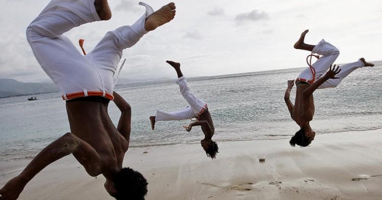Capoeira Practice on Dili Beach