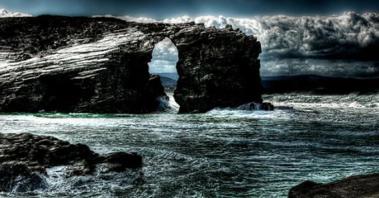 Foto: J. A. Alcaide (Playa de Catedrales, Galicia)
