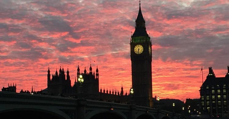 Atardeceres sobre el Big Ben (Pixabay)
