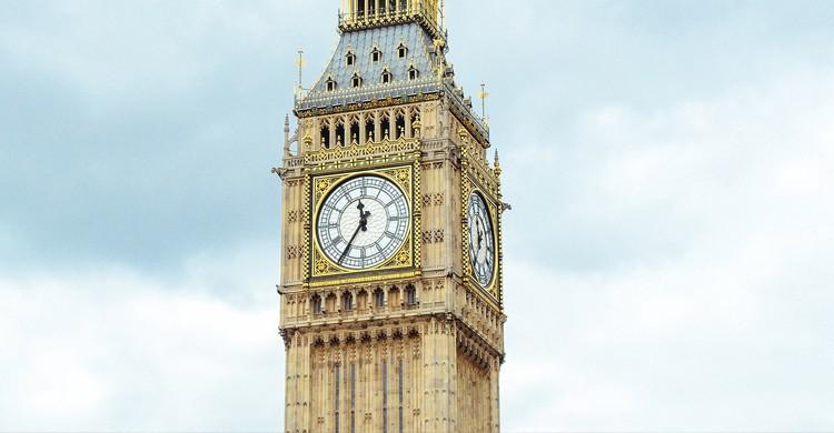 Big Ben reloj (Pixabay)