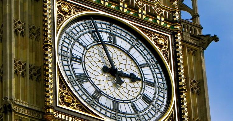 La puntualidad británica del Big Ben (Pixabay)
