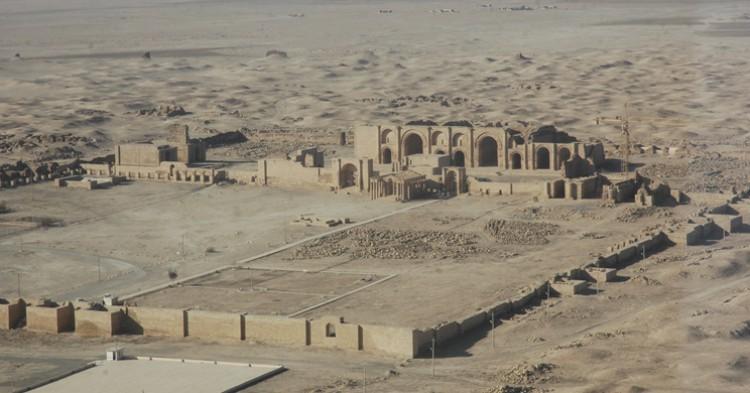 Ruinas de la ciudad de Hatra - Wikipedia (Creative Commons)