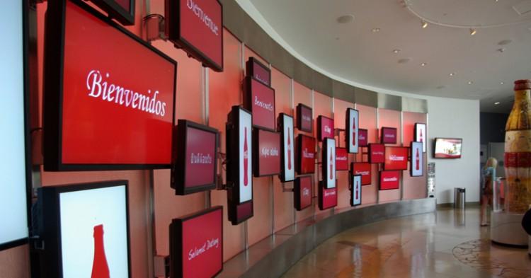 Entrada a una sede de Coca-Cola. Samuel Mann (Flickr)