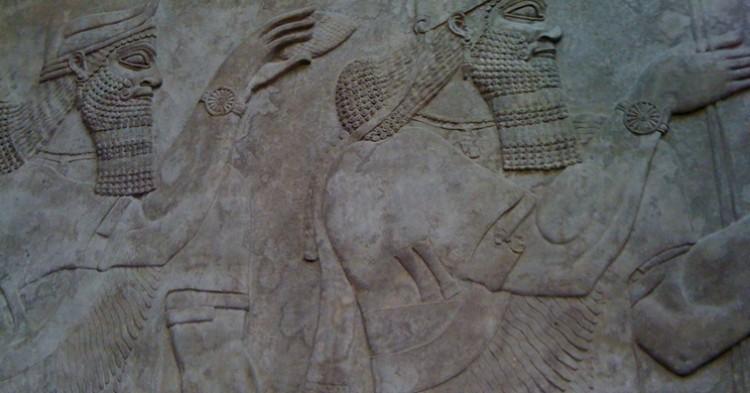 Mosaico de la antigua ciudad de Nimrub - E.N.K, Flickr