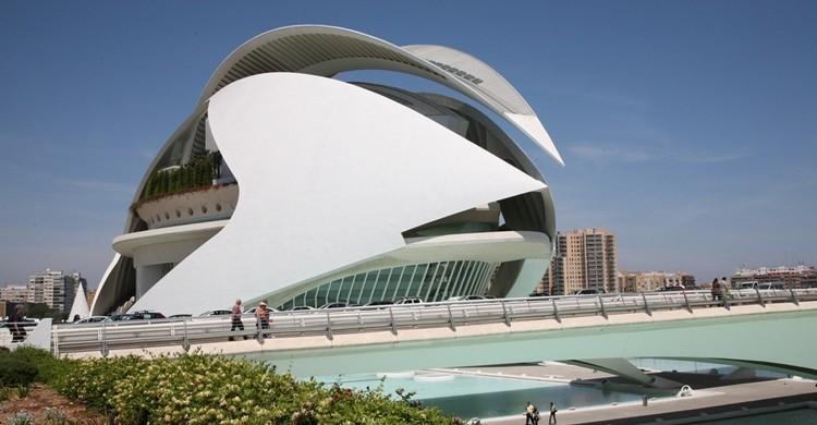 Palacio de las Artes en Valencia. (vincent desjardins). (Flickr).