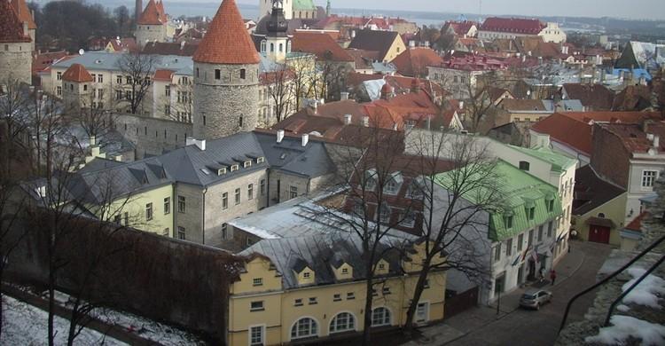 Vista de Tallín. Fredrik Rubensson (Flickr).