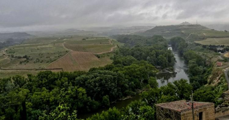 El Ebro a su paso por Briones. juantiagues (Flickr)