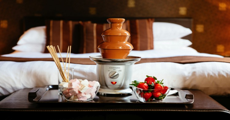 Una de las habitaciones del Chocolate Boutique Hotel. Foto: http://www.thechocolateboutiquehotel.co.uk