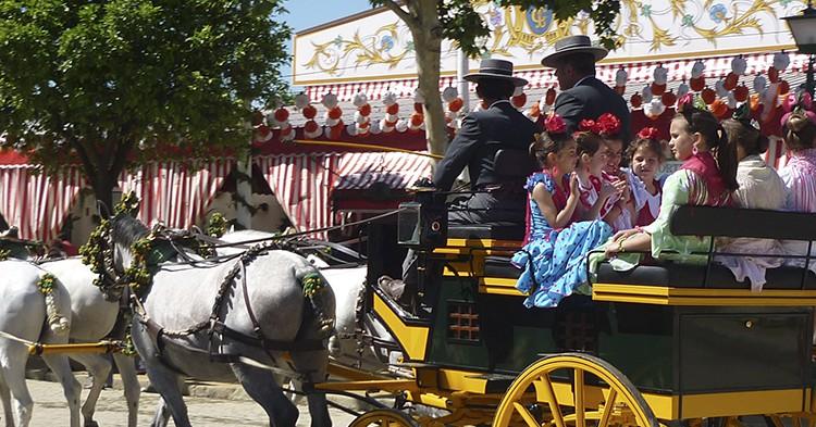 Feria de Sevilla. Virginia Monita (Flickr)