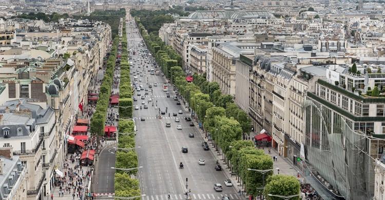 Campos Elíseos de París. Edgardo W. Olivera (Flickr)