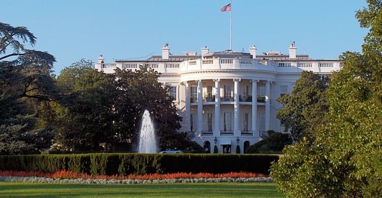 Casa Blanca en Pennsylvania Avenue, Washington DC. John Haslam (Flickr)