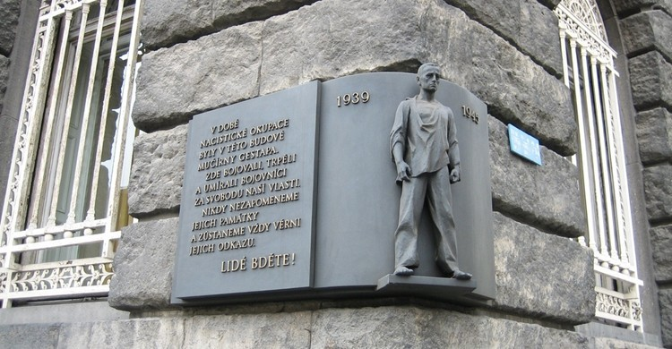 Petschek Palace Memorial de Praga. Sheila Thomson (Flickr)