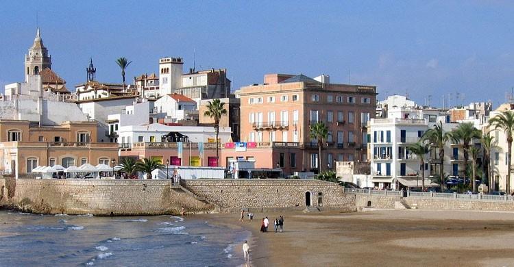 10 pueblos m s bonitos cerca de barcelona el viajero fisg n - Fotos de sitges barcelona ...