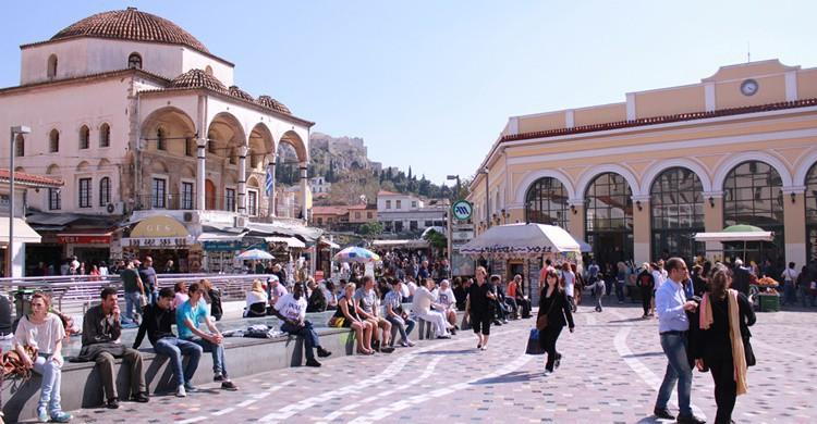 Plaza de Monastiraki. Tarek (Flickr)