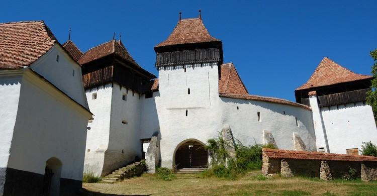 Iglesia de Viscri (wikimedia.org)