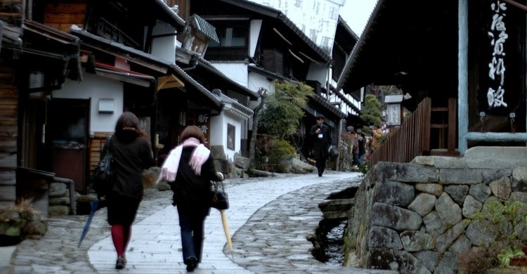 Calle de Magome. Yuki Yaginuma (Flickr)