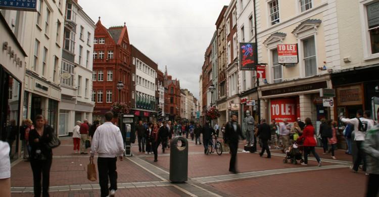 Grafton Street, en Dublín. Vavva_92 (Flickr)
