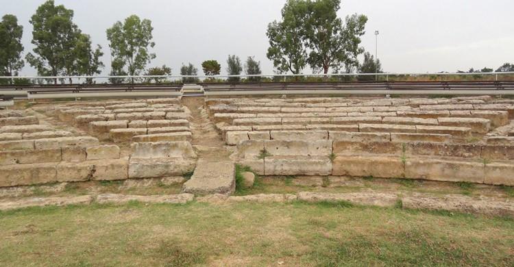 Teatro griego en Metaponto. Revol Web (Flickr)