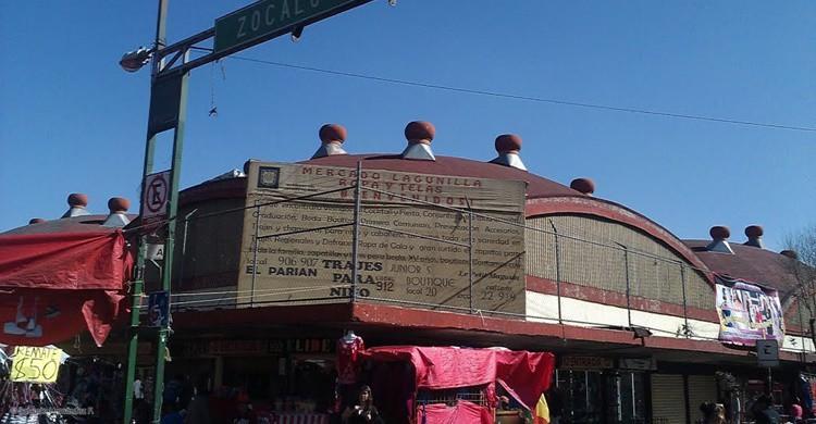 Mercado de La Lagunilla. (Panoramio.com)