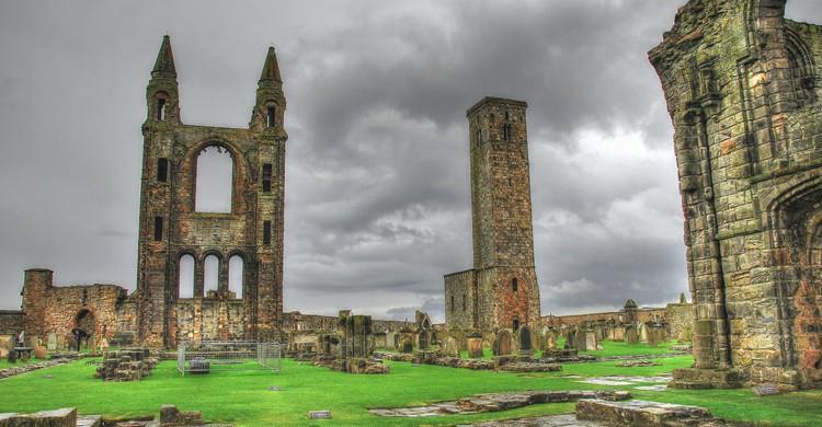 Catedral en ruinas de Saint Andrews. David Sanz (Flickr)