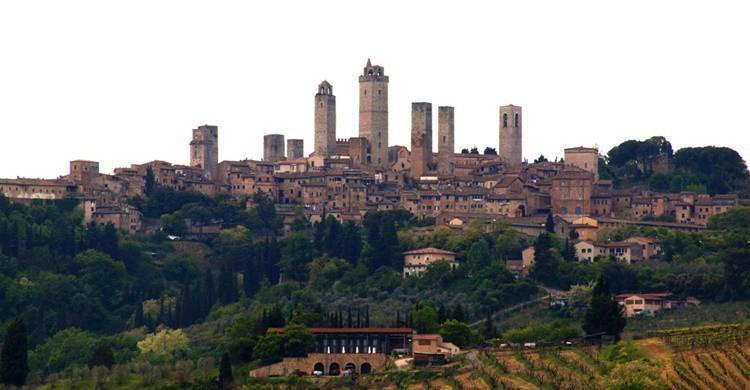 San Gimignano, con sus célebres torres. Kevin Poh (Flickr)