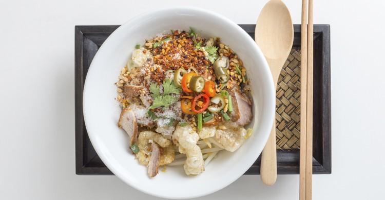 Comida tailandesa (iStock)