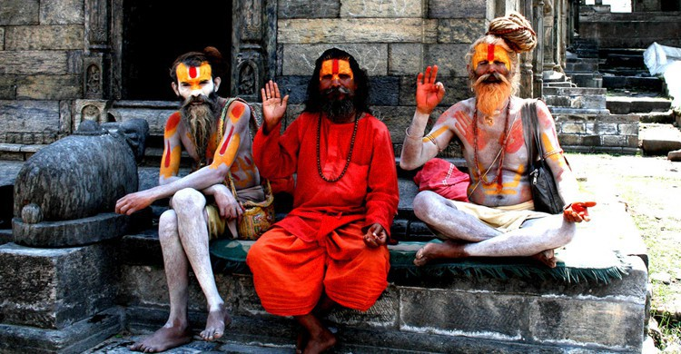 Sadhus. Mike Melrose, Flickr