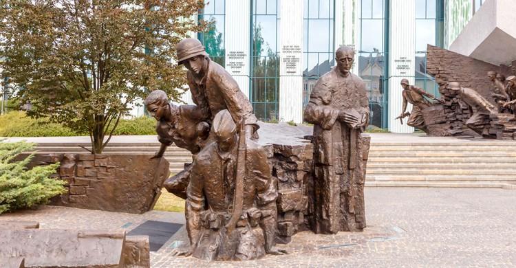 Monumento al Alzamiento de Varsovia (iStock)