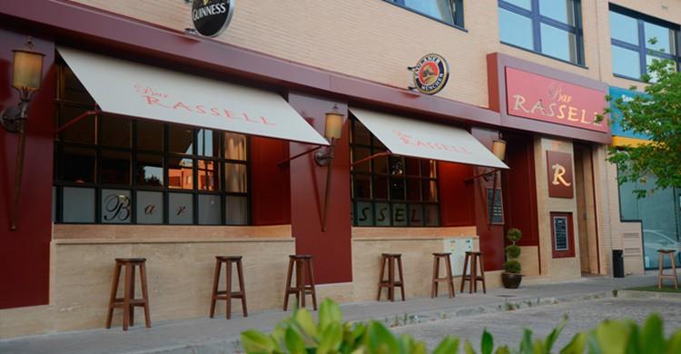 Fachada del restaurante Rasell. (http://www.barrassell.es/)