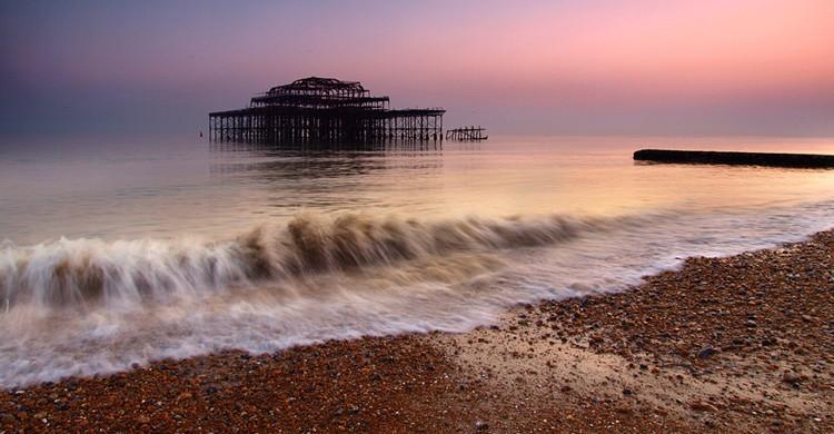 Imagen del West Pier. Eric Hossinger (Flickr)