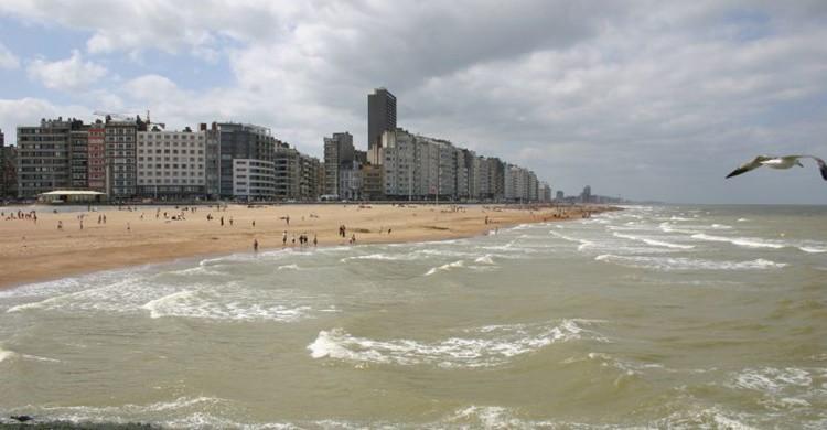 Playa de Ostende. Jean-François Lefebvre (Flickr)