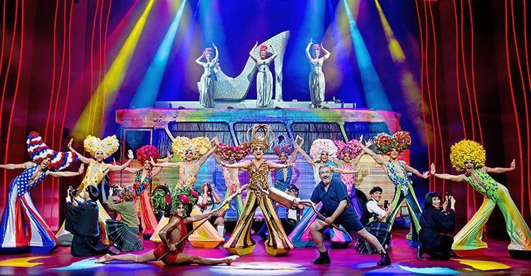 Momento del musical de Pricilla (http://www.priscillaelmusical.es)