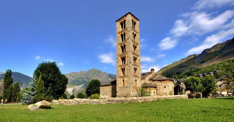 Famosa iglesia de San Clemente en Tahull. Ferran Pestaña (Flickr)